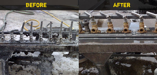 Industrial Soda Blasting results